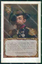 Militari Bersaglieri Alessandro La Marmora cartolina QT5521