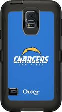 San Diego Chargers Samsung Galaxy S5 Otter Box Defender Rugged phone case