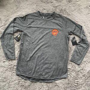 Nike On Field Cincinnati Bengals Throwback Long Sleeve Shirt 944304-010 Size XL