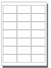 500 x 21 per sheet Blank A4 self adhesive product address postal White labels