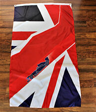 Union Jack F1 Racing British Flag Silverstone Formula One Team Banner England