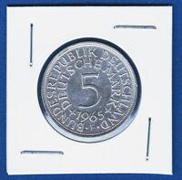 5 Mark 1965 F, Germany, Deutschland, silver coins, Allemagne, Silber Argentum !