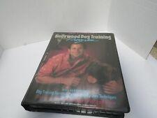 Hollywood Dog Training Program Joel Silverman 1990 1 VHS 4 Cassette Tapes Books