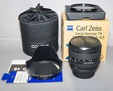 Contax Carl Zeiss Vario-Sonnar T* 24-85mm F/3.5-4.5 N EXCELLENT++ BONUS BOXED