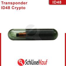 Transpondedor id48 Crypto chip vidrio inmovilizador chip Audi VW skoda nuevo uncodiert