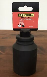 """KC Tools Impacta 3/4"""" Drive Socket 42mm Deep CR-MO"""