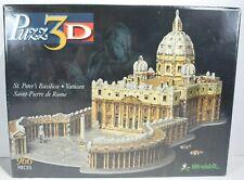 Puzz 3D Wrebbit Puzzle St. Peter's Basilica Vatican Brand New Sealed 966 Pieces