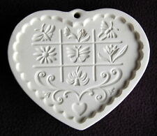 Pampered Chef GARDENS OF THE HEART Cookie Mold ~ 1996 ~ VGC