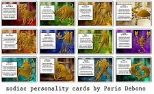 Zodiac Astrology Personality cards (fortune telling / tarot)