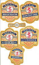 22 vintage unused soft drink labels Howell Davies Abercynon Wales