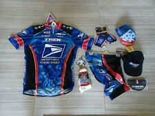 Usps Pearl Izumi Complete Cycling Team Jersey Shorts Sox Gloves Caps Unused Tags