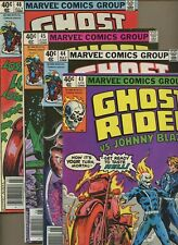 Ghost Rider 43,44,45,46 * 4 Book Lot * Crimson Mage! Occult! Budiansky! Marvel