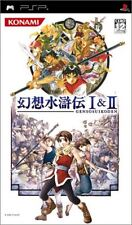Used PSP Genso Suikoden I&II Japan Import