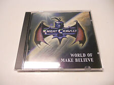 """Knight Crawler """"World of make believe"""" A2 Records 2001 cd"""