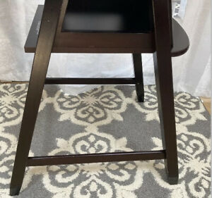 LOWER RIGHT SIDE SUPPORT Eddie Bauer Cherry Wood High Chair- Replacement  Part