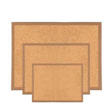 Premium Reinforced Wooden Framed Cork Notice Board Memo Message Pin Corkboard