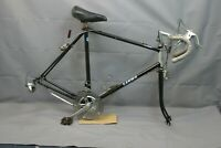 1987 Sanwa Classic Touring Road Bike Frame 58cm Large Cromoly Steel USA Charity!