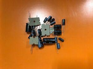 Electrohome G07-CB0 Cap Kit Monitor Repair  -  All NICHICON Caps
