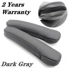 Leather Front Seat Armrest Replacement Cover fit for Honda Odyssey 2005-10Gray
