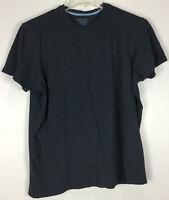 Mens Banana Republic T Shirt XL Fitted Crew Short Sleeve Blue Cotton