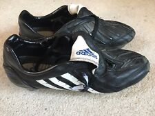 Adidas Predator Absilon men's vintage football boots in black - size 9 2008 rare