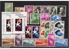 ESPAÑA - AÑO 1958 COMPLETO - SELLOS NUEVOS DE LUJO