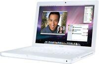 "Apple MacBook 13.3"" Laptop MB061LL/A 2.00GHz Core 2 Duo 80GB 1GB RAM OS 10.6"