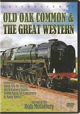 OLD OAK COMMON & THE GREAT WESTERN STEAM RAILWAY DVD NARRATED BY ROB McCAFFERY