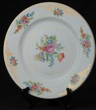 "Aichi China Dresden Flowers 1940s Dinner Plate(s) 10.5"" Exc Cond. MIJ Pretty!"