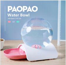Pet Dog Cat Automatic Water Feeding Bowl Fountain Dispenser Dish