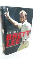 My Life by Brett Lee - Brett Lee SIGNED Hardcover 1st edition