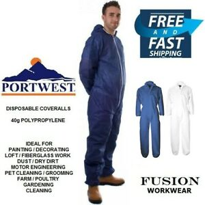 DISPOSABLE COVERALL,DIY,PAPER,OVERALL,DUST FIBREGLASS,LOFT,PAINTING & DECORATING