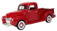 "1:18 1940 Ford Pickup (Red) ""Timeless Classics"" Motor Max Diecast Model"