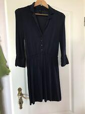 leicht fließend Jerseykleid Minikleid blau nachtblau Vero Moda  Gr. S wie neu