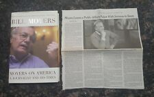 Moyers on America: A Journalist and His Times: By Bill Moyers, HC, DJ *LIKE NEW*
