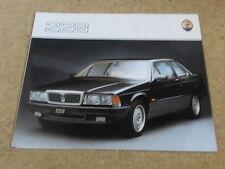 MASERATI 228 brochure - ENG/FR/D 1988-91 (Z047)