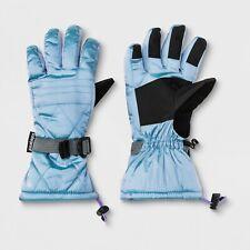 Nwt Girls' Premium Ski Gloves - C9 Champion Light Blue 8/16