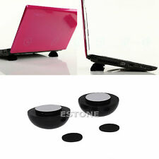 1PC Laptop Notebook Cool Ball Cooler Stand + Skidproof Pad