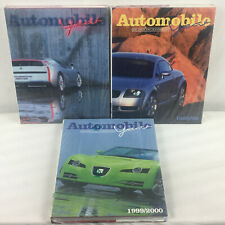 Lot of 3 NEW IN PLASTIC Automobile Years 1997 98 1998 99 1999 2000