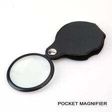 10x Pocket Hand Sized Monocle Magnifying Magnifier Foldable Loupe Glass Loop BY