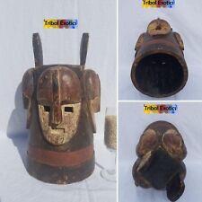 STRIKING Fang Pangwe Ngontang Mask Figure Sculpture Statue Fine African Art