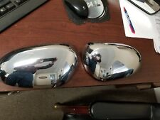 JAGUAR S-TYPE X-TYPE XJ8 VANDEN PLAS LEFT RIGHT EXTERIOR MIRROR COVERS CHROME