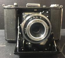 Vintage Zeiss Ikon Nettar 515-16 Novar Andstigmat 35mm Fold. Camera 1:6.3 f-75mm