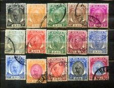 1950 Malaya Malaysia Pahang States Definitive Loose Set Up to $1