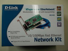 D-Link dfe-902 Network Kit, PCI, 10/100 Mbps Fast Ethernet, #so-28
