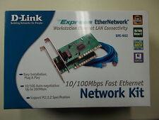 D-Link DFE-902 Network Kit, PCI, 10/100 Mbps Fast Ethernet, #SO-28