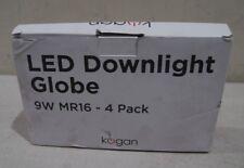 Kogan LED Downlight Globe 4 Pack 9W MR16 12V Light Globes