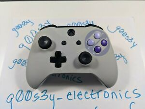 CLOSEOUT New Custom Xbox One SNES Styled Wireless Controller