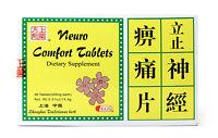 Neuro Comfort Tablets(LiZheng Shen Jing Bi Tong Pian)Herbal Supplement 48Tablets