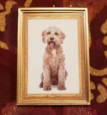 Labradoodle Goldendoodle Dog Christmas Ornament/Magnet/Dhm/Wall Decor/Tabletop